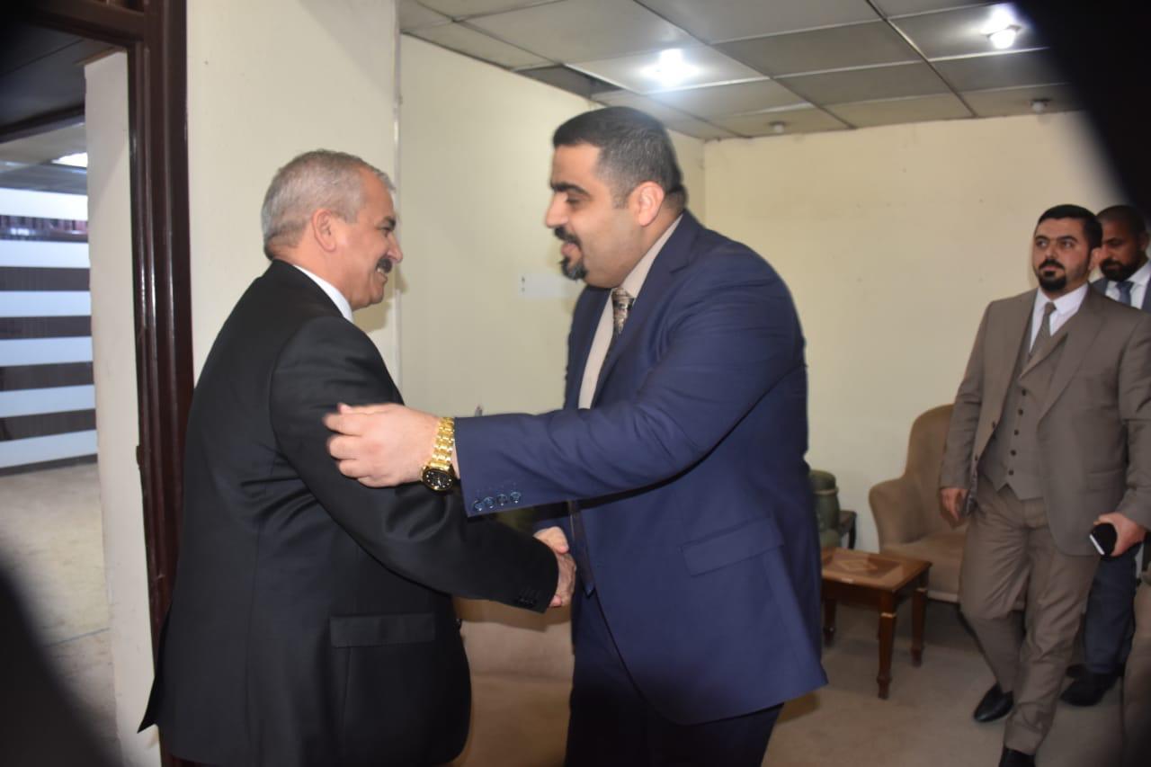 مفتش عام الداخلية السيد جمال الاسدي يباشر اضافة الى مهامه مفتشا عاما لهيأة المنافذ الحدودية
