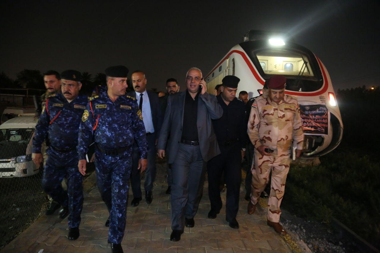 عاجل : من المحطة العالمية للسكك حديد العراق