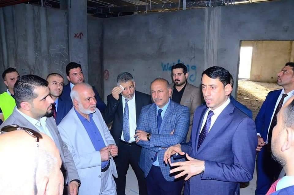الامين العام لمجلس الوزراء الاستاذ حميد نعيم الغزي من كربلاء المقدسة متابعة المشاريع من أولويات برنامجنا الحكومي