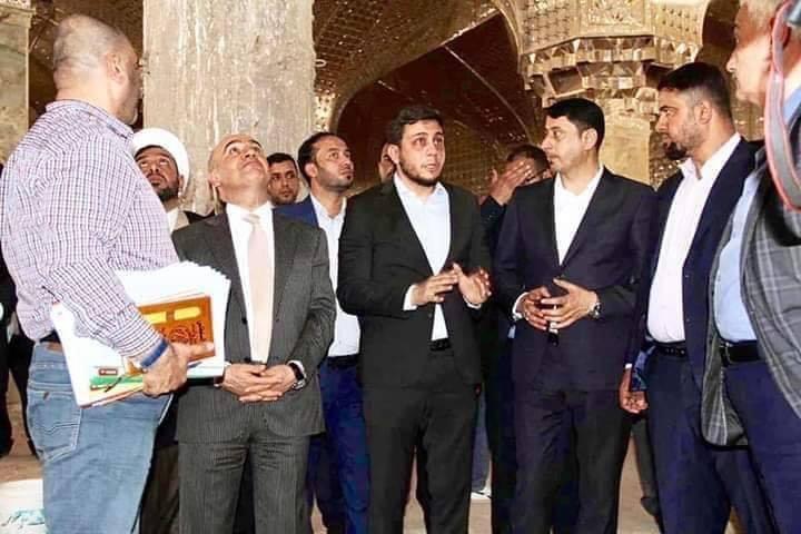 العمل متواصل في انجاز مرقد الشهيد محمد باقر الصدر