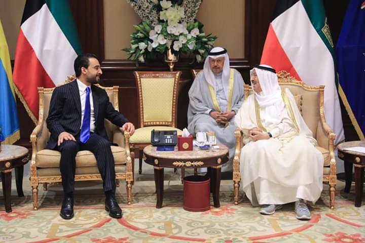 رئيس مجلس النواب يلتقي أمير دولة الكويت