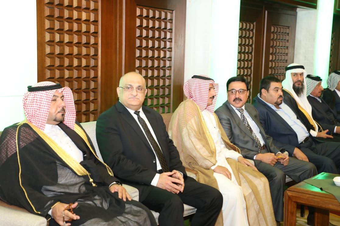 مهنئا نيابة  عن دولة رئيس الوزراء  وزير التجارة : العراق يسعى إلى أفضل العلاقات مع السعودية ومزيد من التعاون بين البلدين