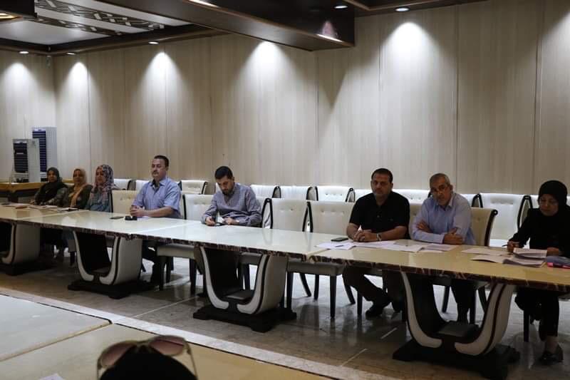 الشركة العامة للمعارض والخدمات التجارية العراقية تنظم ورشة عمل حول استبانة قياس الرضا الوظيفي اعتبارا من 23/9/2019