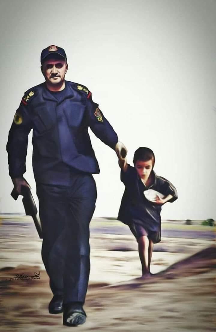 قائد قوات مكافحة الارهاب (الفريق الركن/ عبدالوهاب الساعدي)