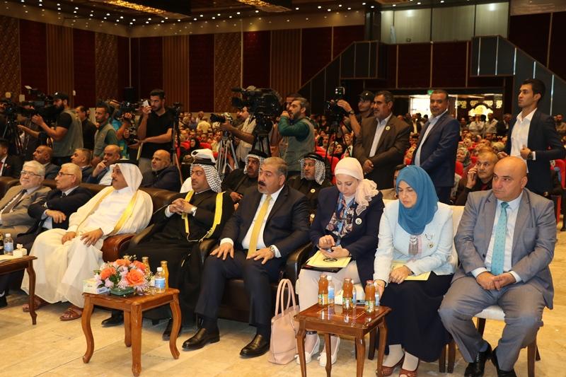 اقامة احتفالية يوم النخيل ومعرض للتمورعلى أرض معرض بغداد الدولي تحت شعار (نخيل العراق رمز الخير والعطاء)