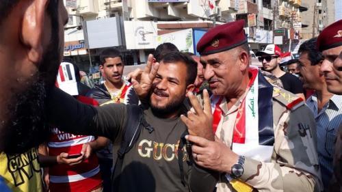 قائد عمليات بغداد يعلق بشان حظر التجوال ويؤكد: صوت المتظاهرين وصل للعالم