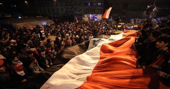 بعد إنسحاب جمهور التيار الصدري، وحرق الخيام .. إنتفاضة الشعب تولد من جديد