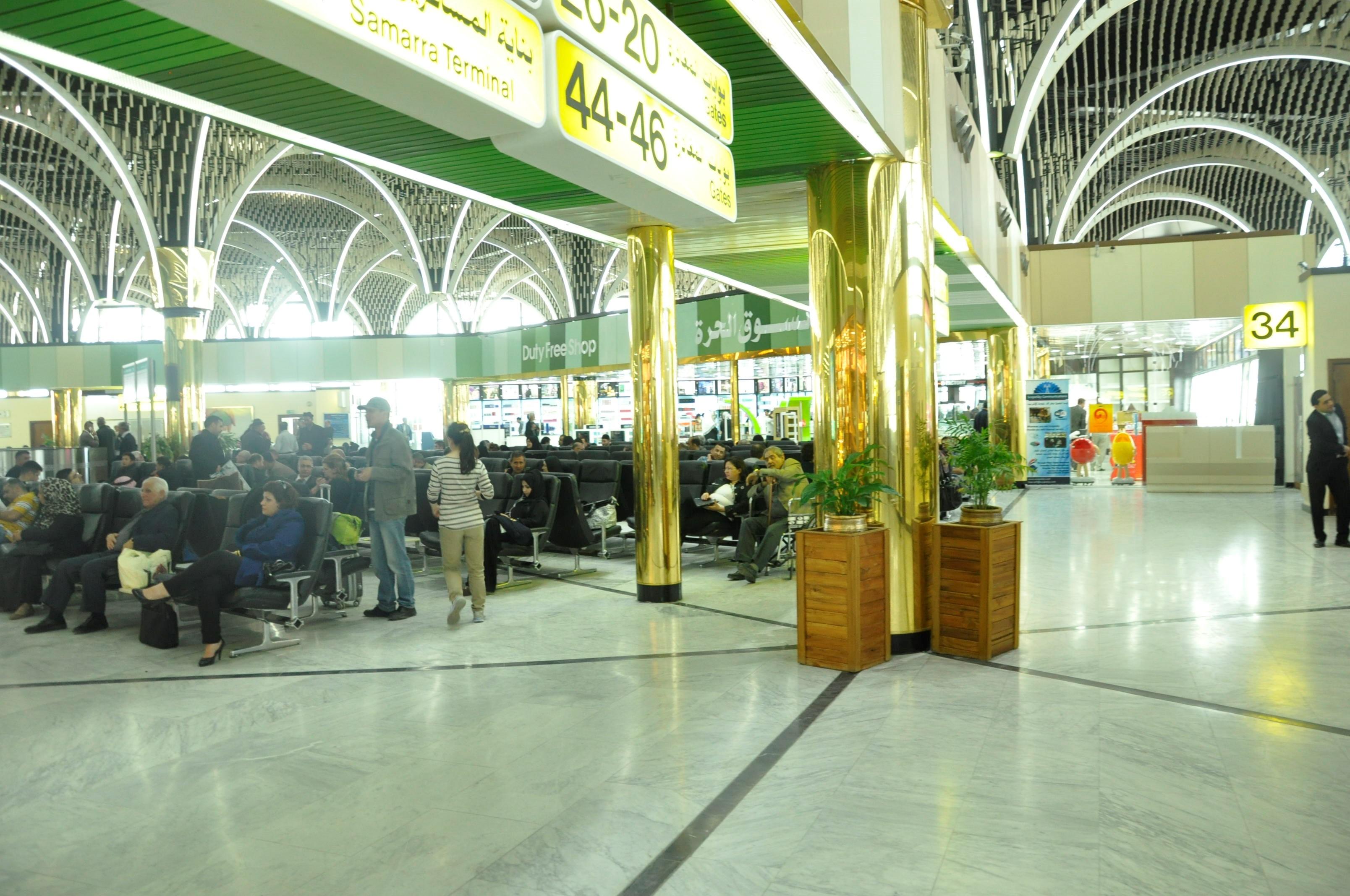 """مطار بغداد الدولي يتخذ إجراءات وقائية لفيروس """"كورونا"""""""