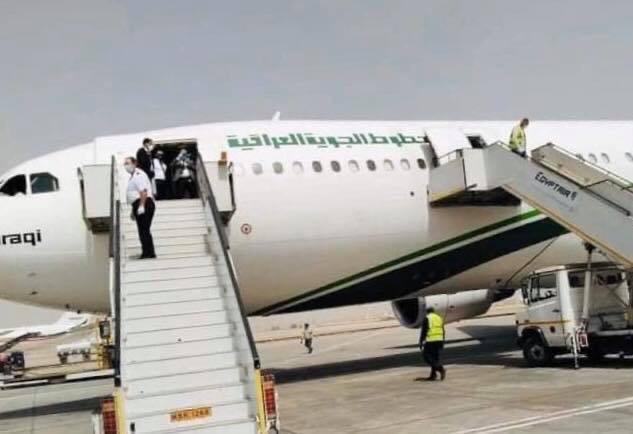 بمبادرة من وزير النقل والسفير العراقي في جمهورية مصر  العراقيون يعودون من القاهرة برحلات استثنائية
