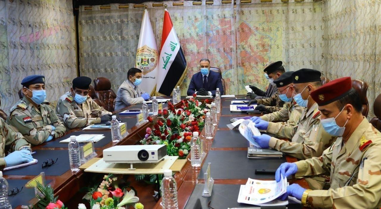 القائد العام للقوات المسلحة يقود بنفسه من أرض التطهير ، عمليات (ابطال العراق الرابعة) ..