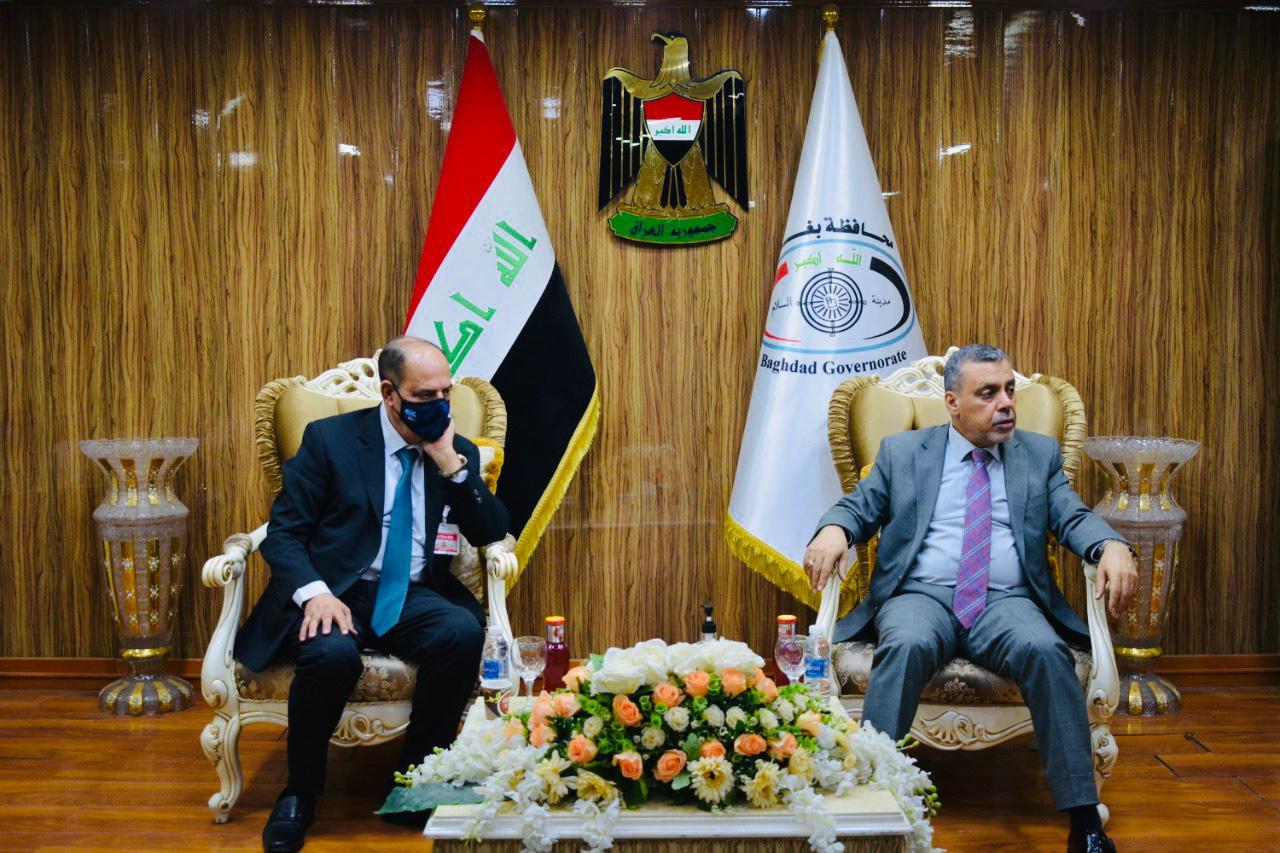 محافظ بغداد يستقبل نقيب الصحفيين لبحث إجراءات دعم شريحة الصحفيين