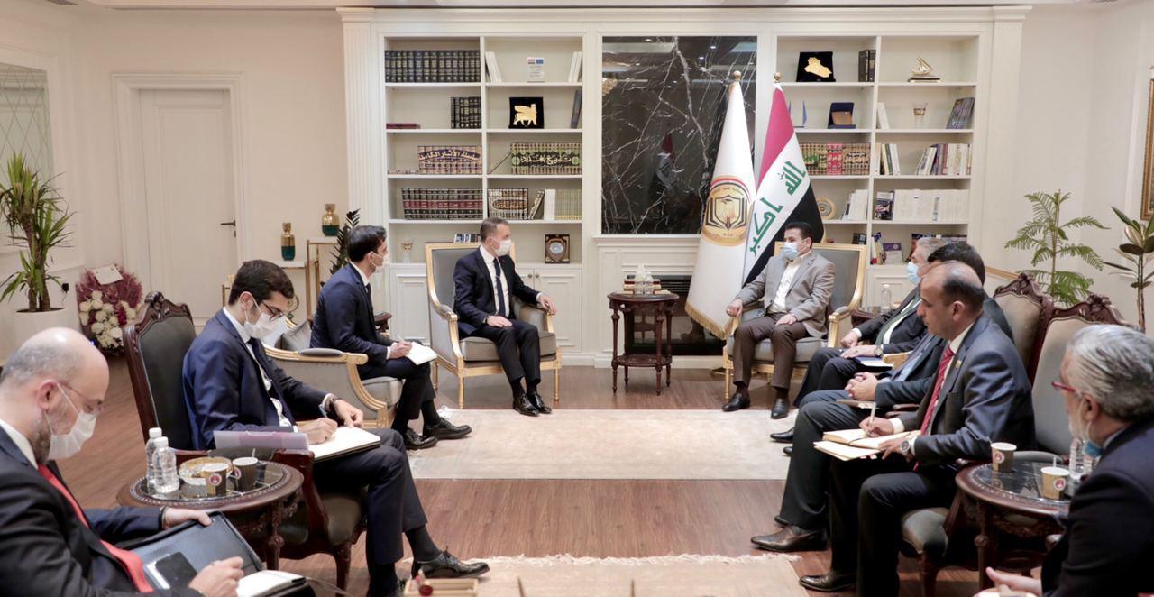 مستشار الأمن الوطني السيد قاسم الأعرجي يستقبل السفير التركي في بغداد