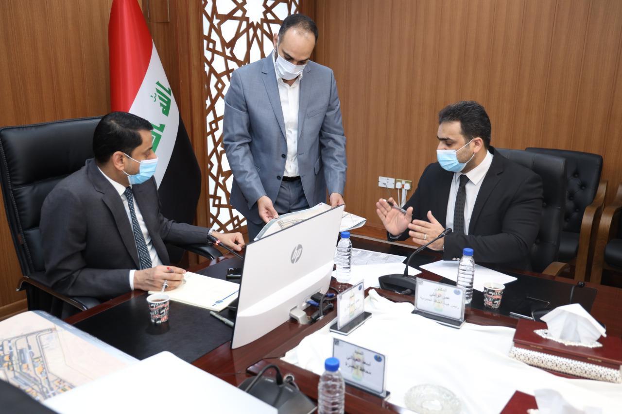 الأمين العام لمجلس الوزراء يوجه بضرورة الإسراع بالمباشرة بتأهيل وتطوير منفذ سفوان الحدودي
