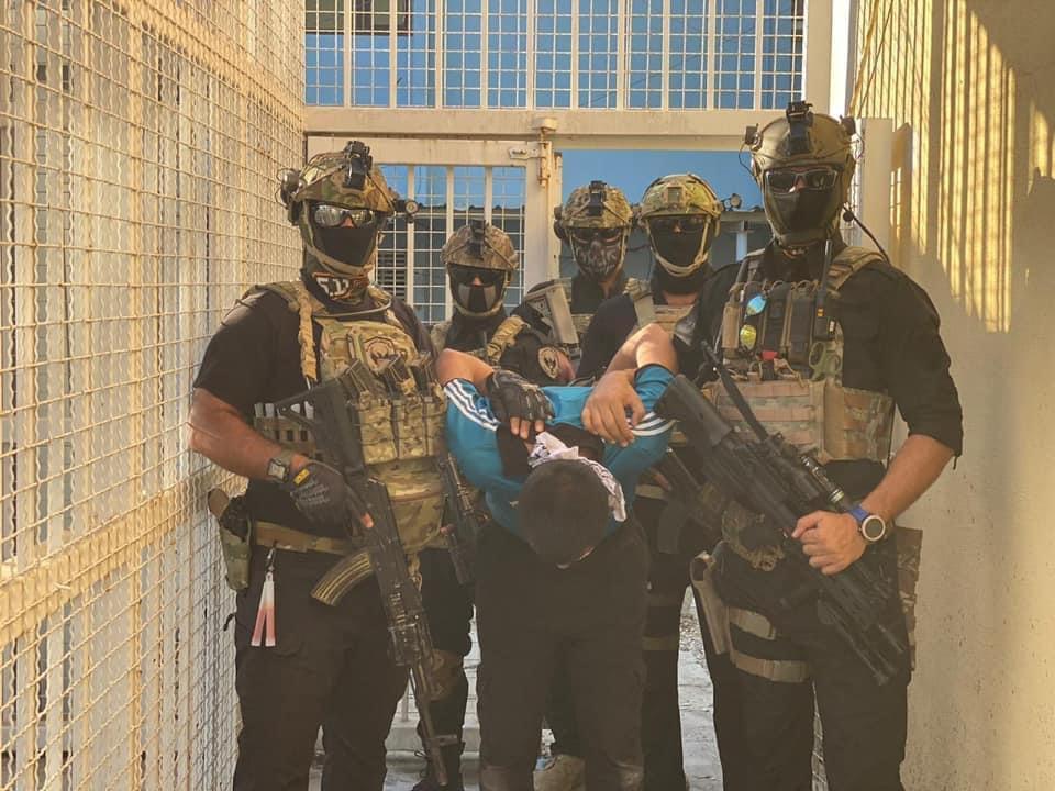 خلية الصقور الاستخبارية – احد تشكيلات مديرية الاستخبارات و مكافحة الارهاب في وزارة الداخلية  تلاحق بقايا تنظيم داعش المتشظية في كركوك