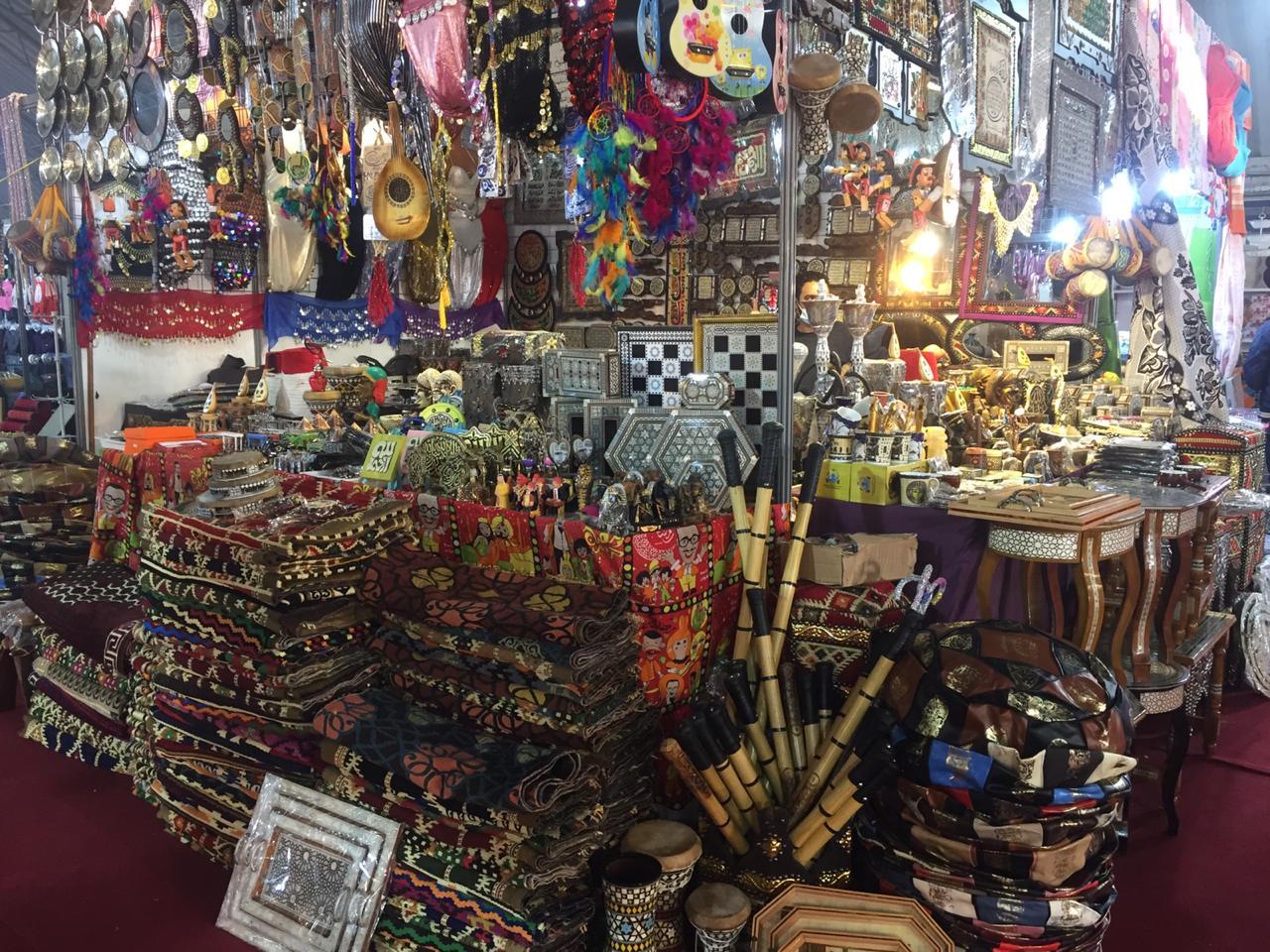 إنطلاق فعاليات مهرجان معرض المنتجات المصرية الرابع للتسوق في النجف
