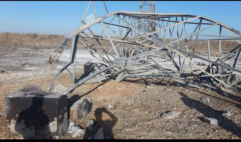 المتحدث العسكري لكتائب حزب الله جعفر الحسيني: عمليات التخريب الإجرامي التي طالت أبراجا ناقلة للكهرباء شمال بابل، تحمل بصمات عصابات إجرامية لها دوافع خبيثة، لا تختلف عن داعش كثيرا.