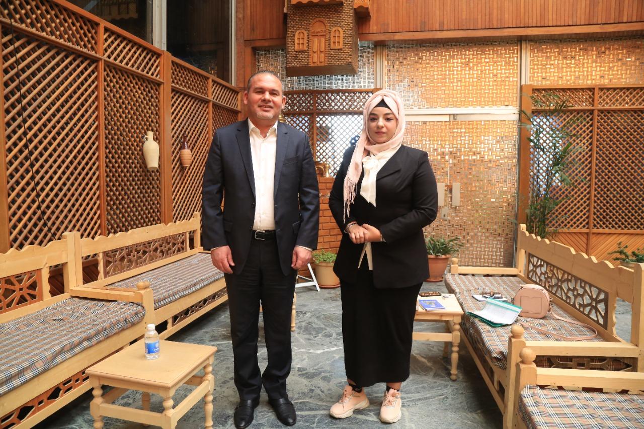 المعمار علاء معن يستجيب لمناشدة الشابة العراقية مارية ويوجه بتخصيص موقع لتنفيذ مشروعها للاكلات السريعة دعما لكفاحها في اعالة عائلتها