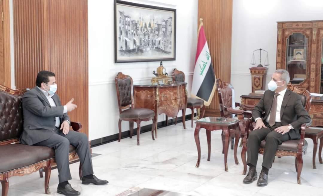 مستشار الأمن القومي يلتقي  رئيس مجلس القضاء  الأعلى