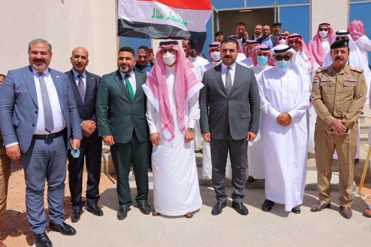 وزارة النقل : لجنة النقل والمنافذ الحدودية تجتمع هذا اليوم في منفذ عرعر  مع الجانب السعودي.